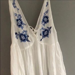 Free People slip dress- WHITE
